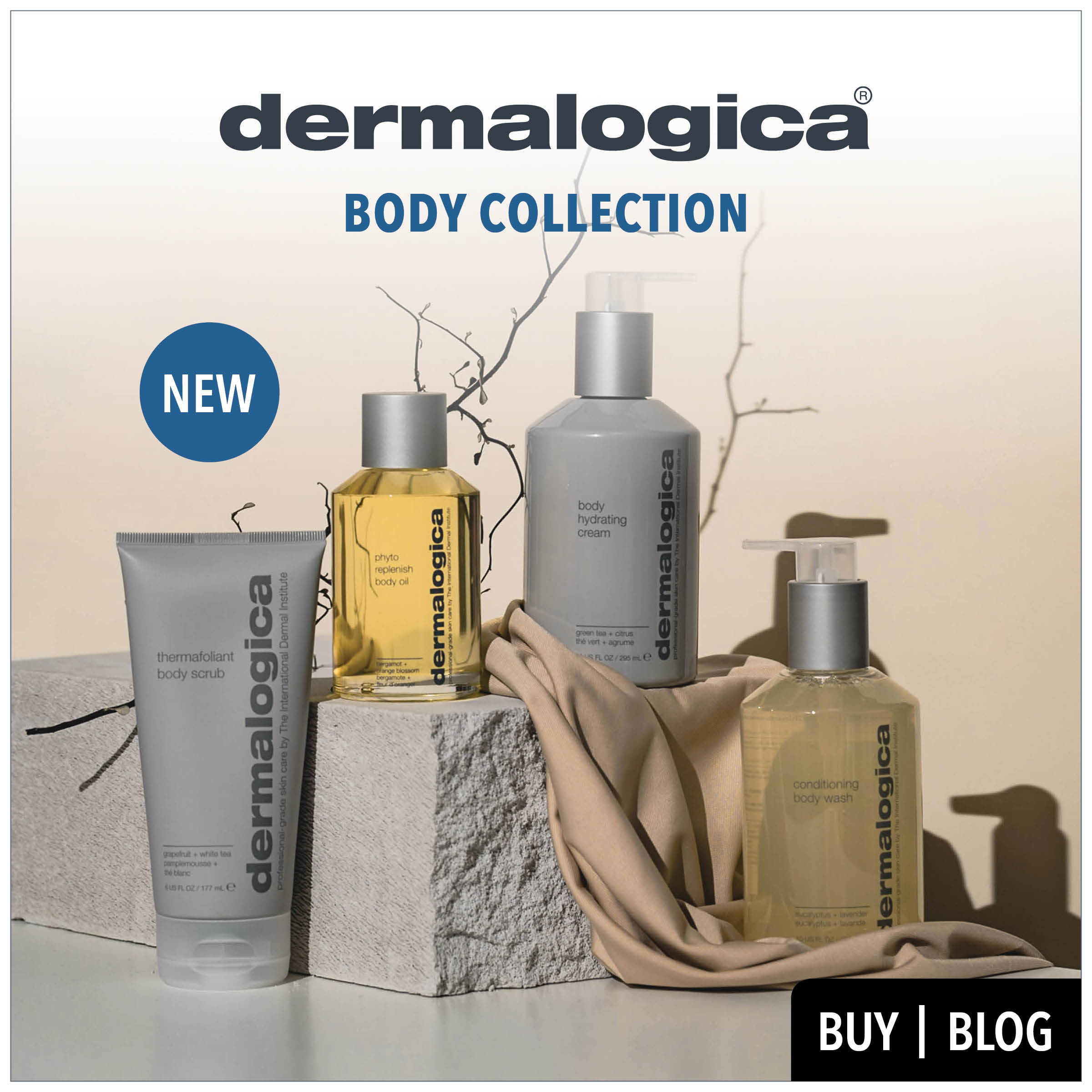 new dermalogica body collection from dermalogica