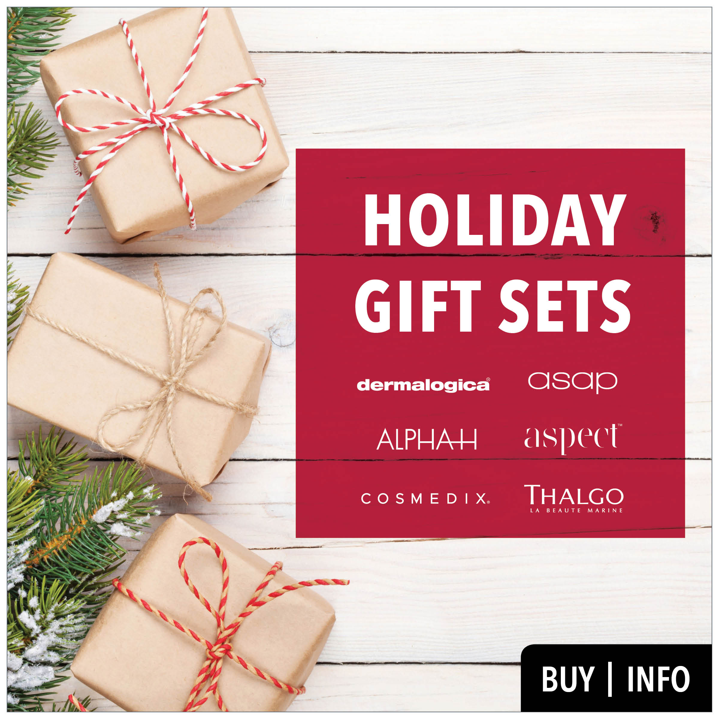 holiday gift sets from prodermal