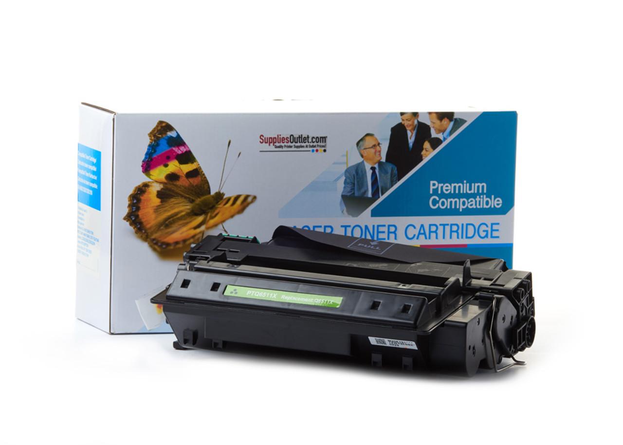 10 pc High Cap Q6511X Compatible Toner For HP Laserjet 2420 2420d 2420dn 2420n