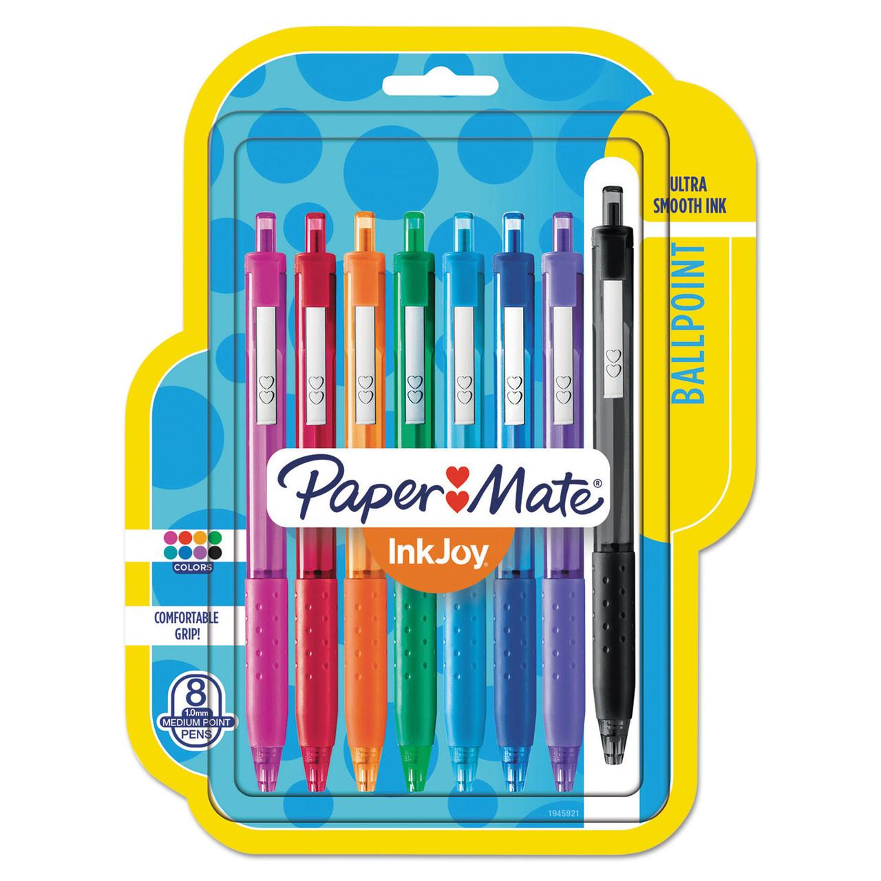 Retractable Colored Pen set