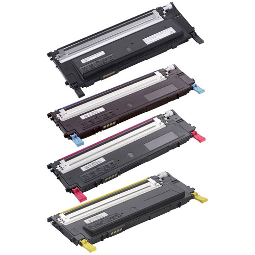 Dell Color Laser C3760 / C3765dnf Toner Cartridge 4-Color Set