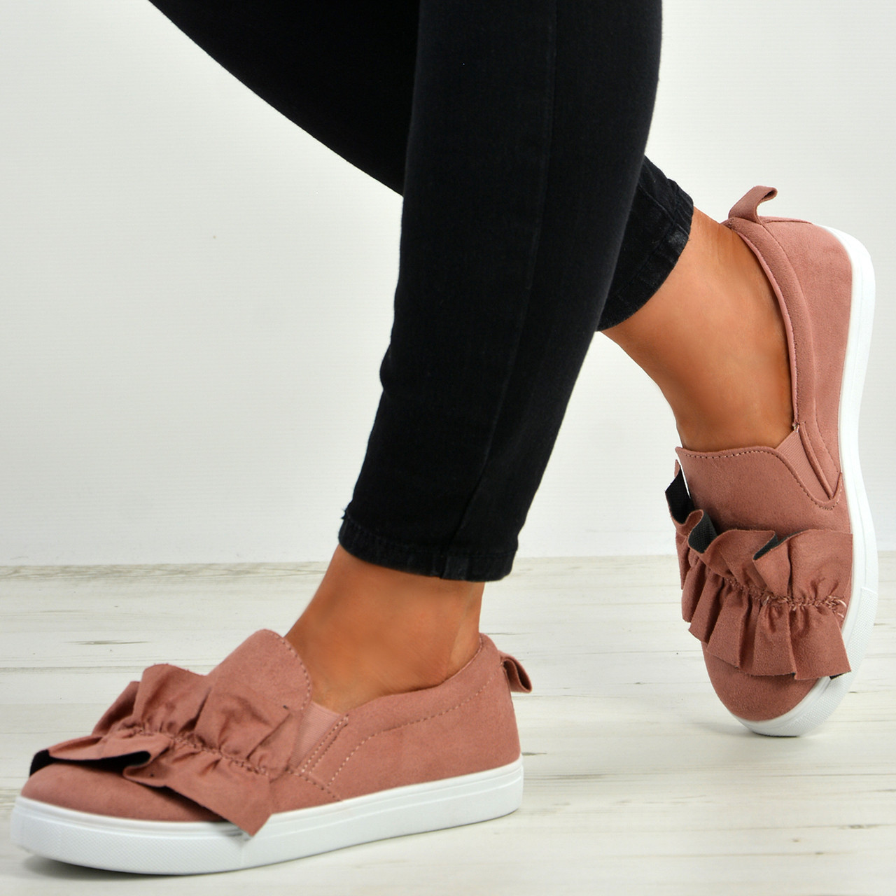 womens bow trainers