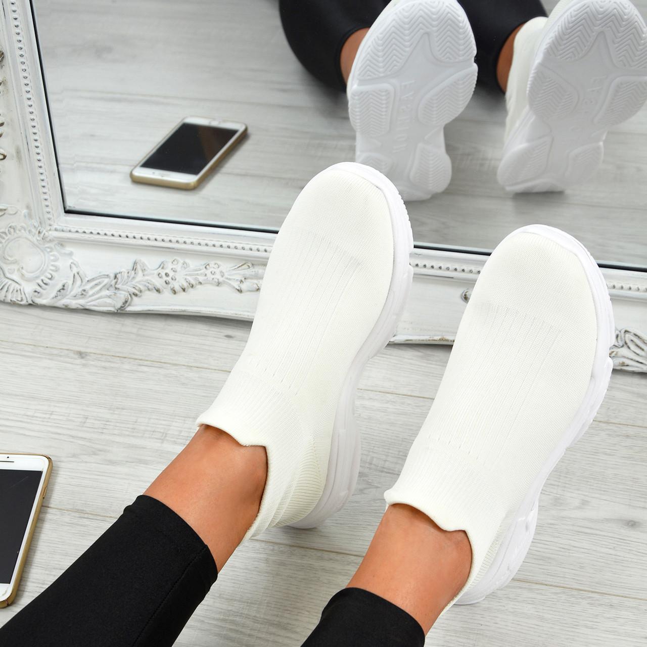 Ladies Womens Knit Speed Sock Runner