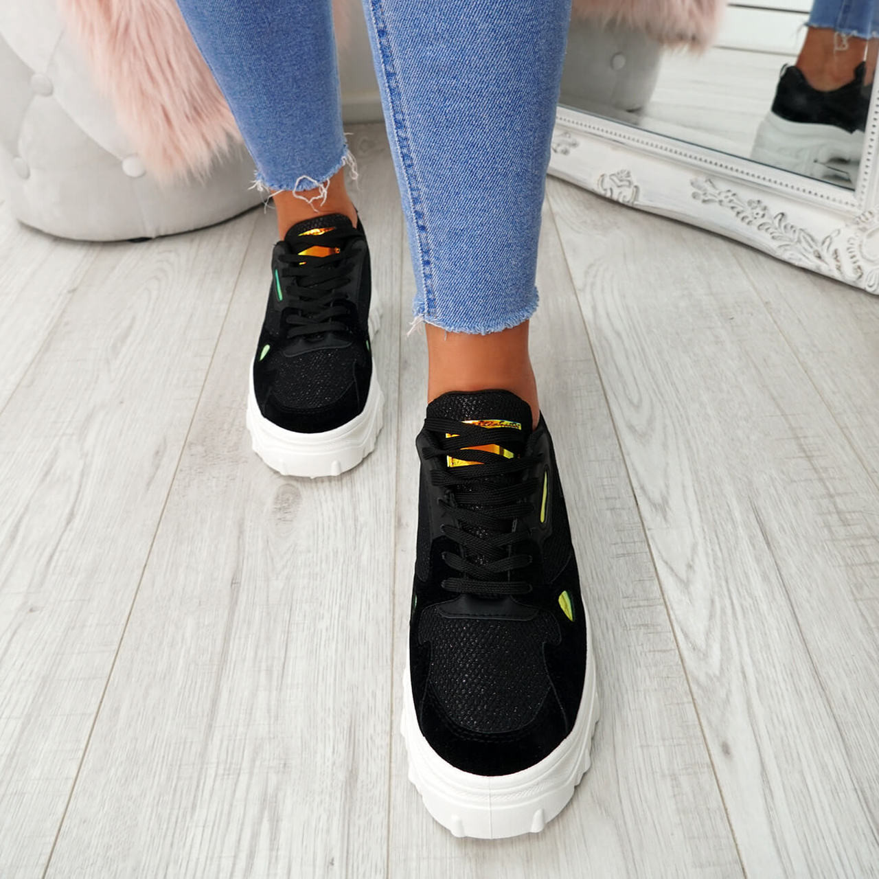 Chunky Trainers Sneakers Plimsolls