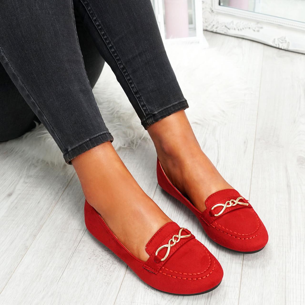 Rexxa Red Flat Ballerinas