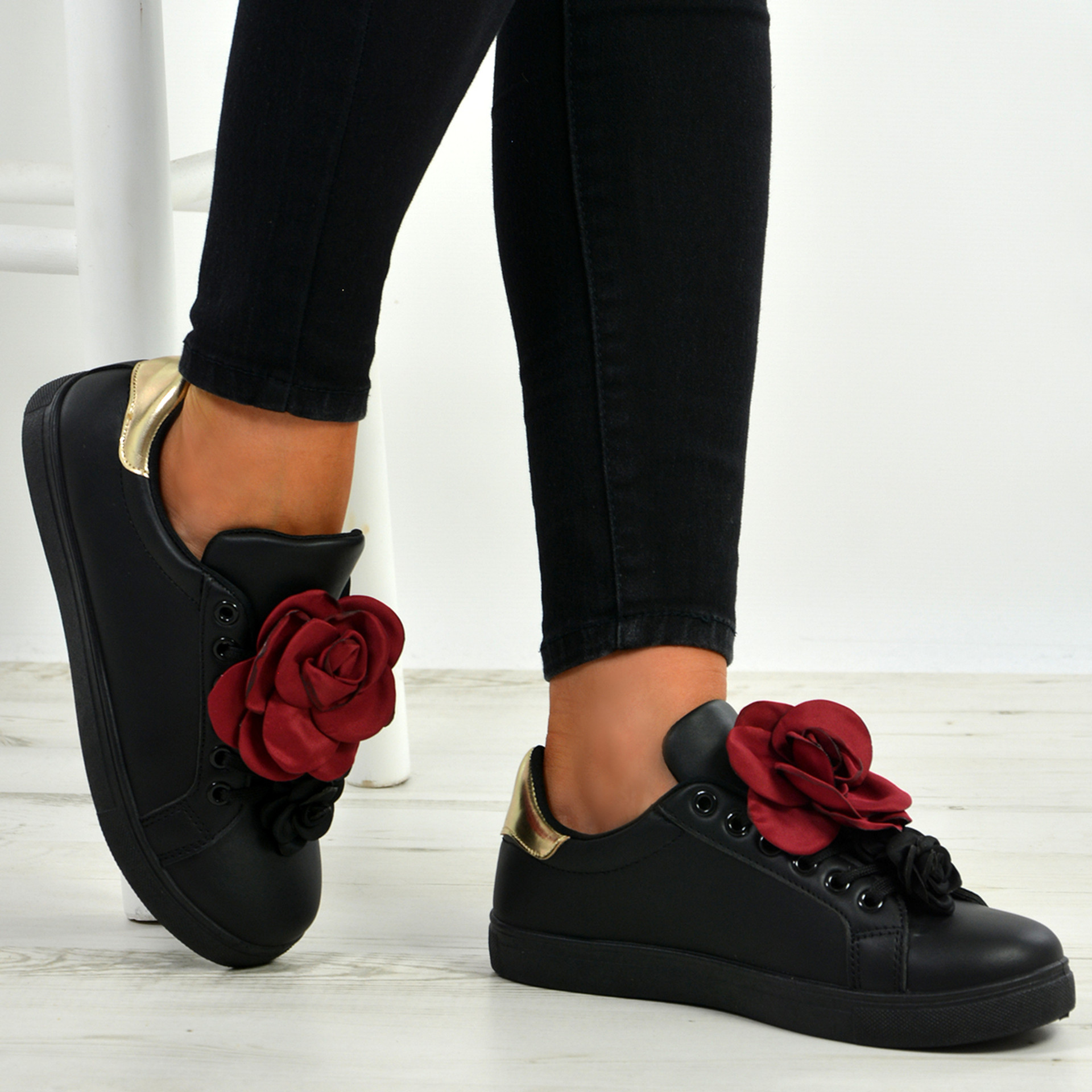 Payten Black Rose Trainers