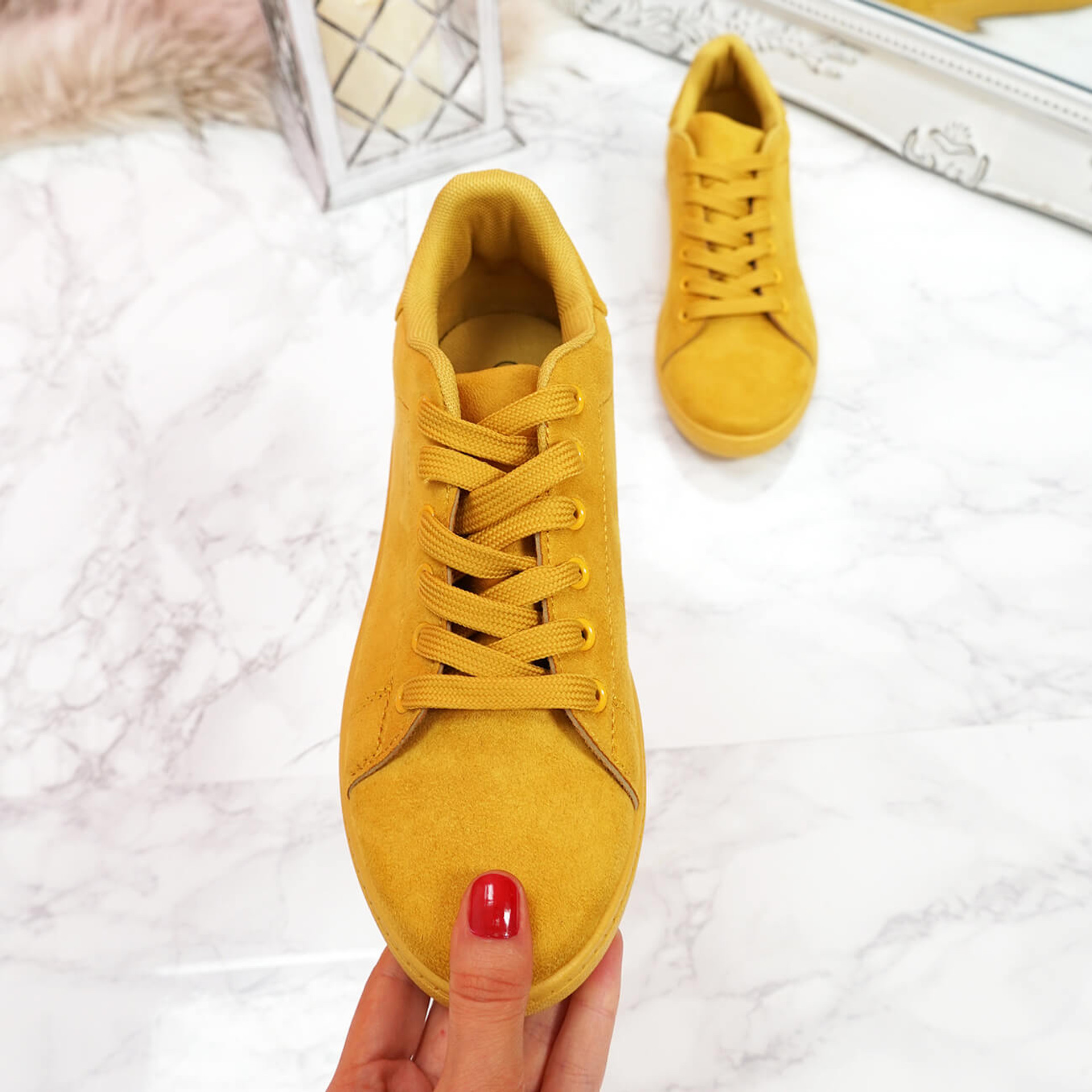 womens ladies lace up faux suede plimsolls casual comfy party uk women shoes size uk 3 4 5 6 7 8