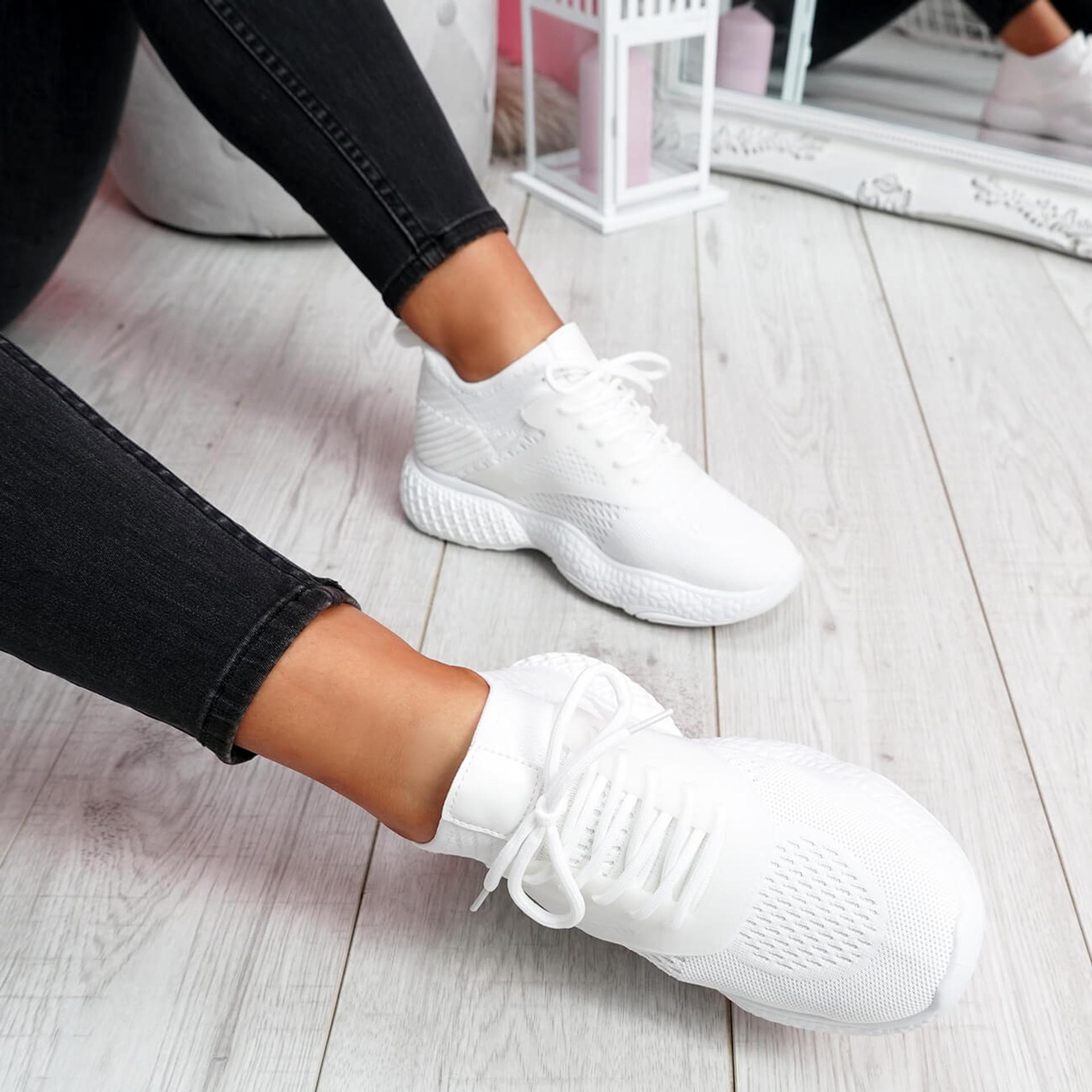 Bya White Running Trainers