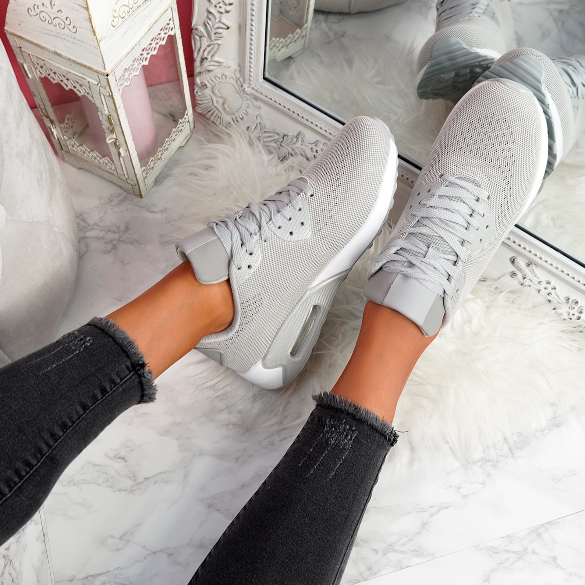 Geppy Grey Fashion Trainers