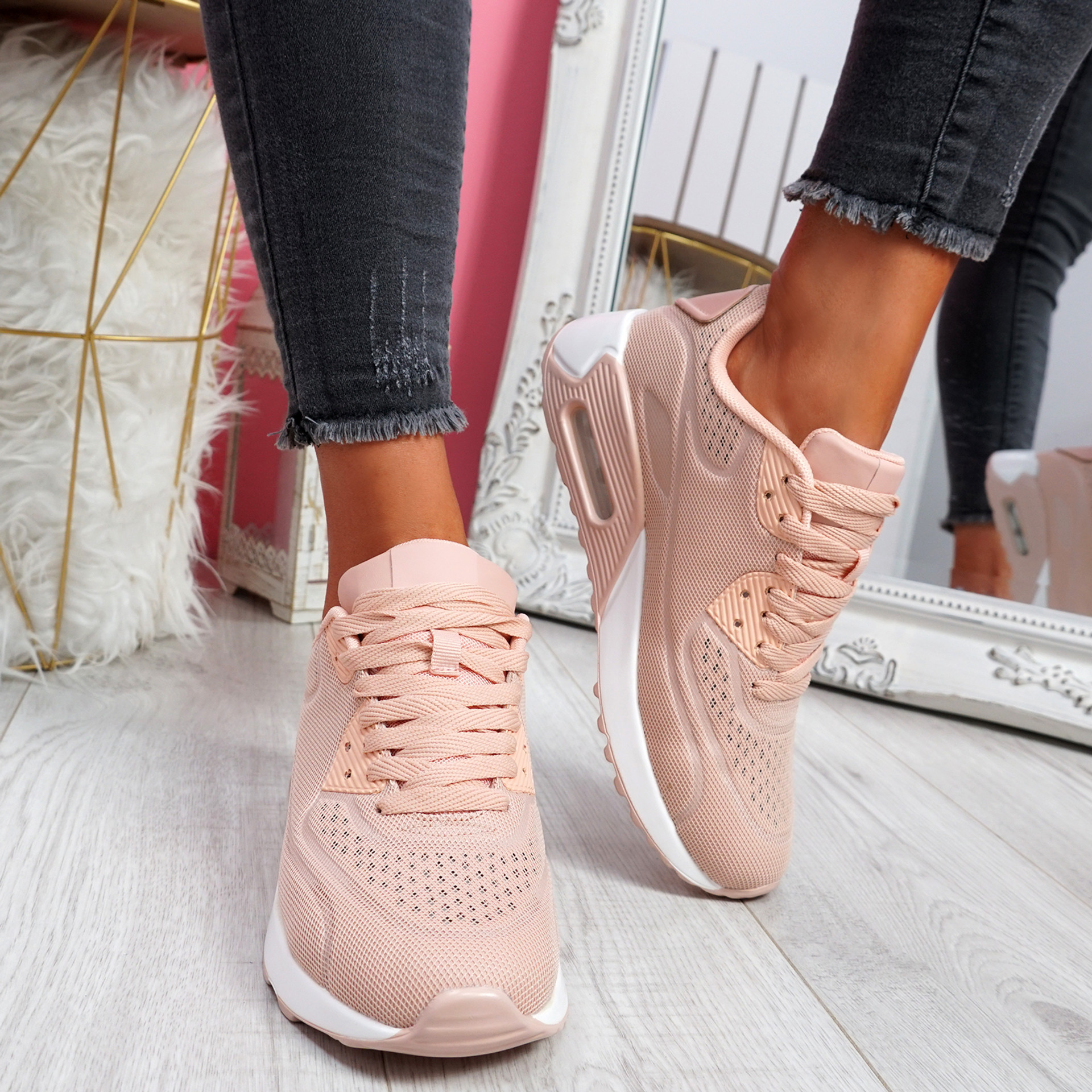 Paddo Pink Trainers