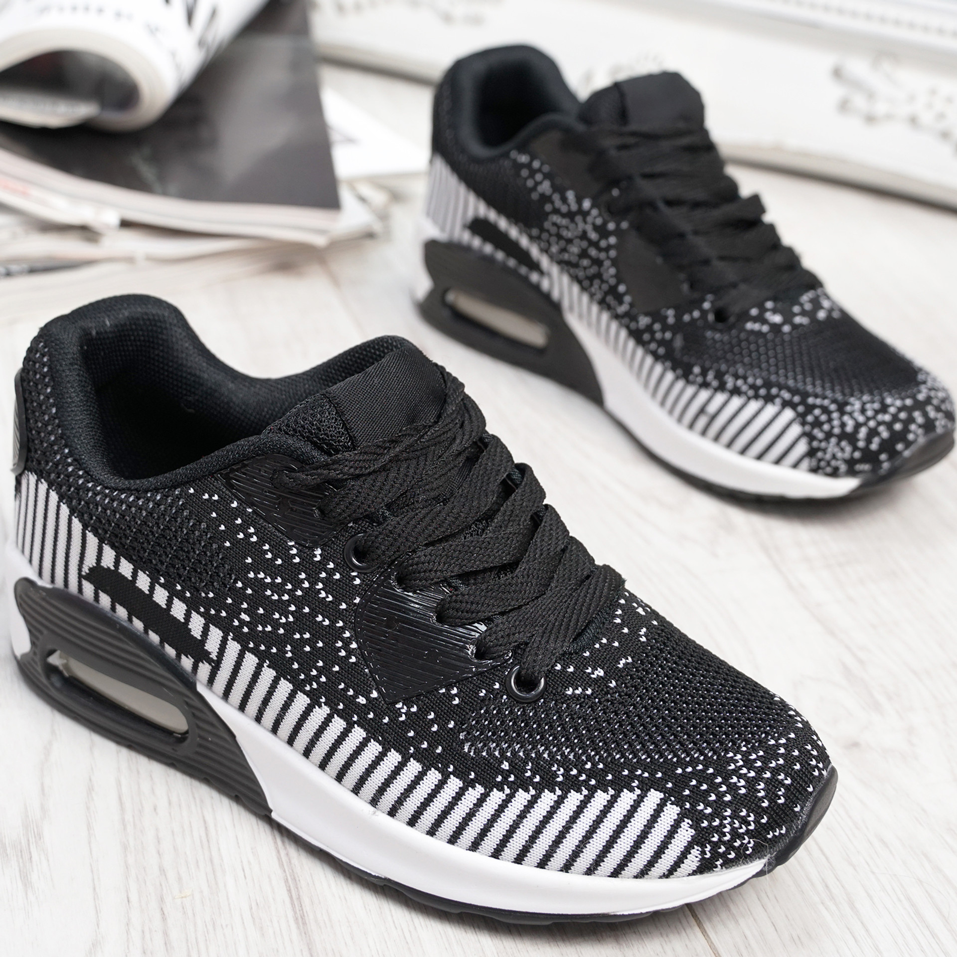 Larry Black Sport Kids Trainers Sneakers