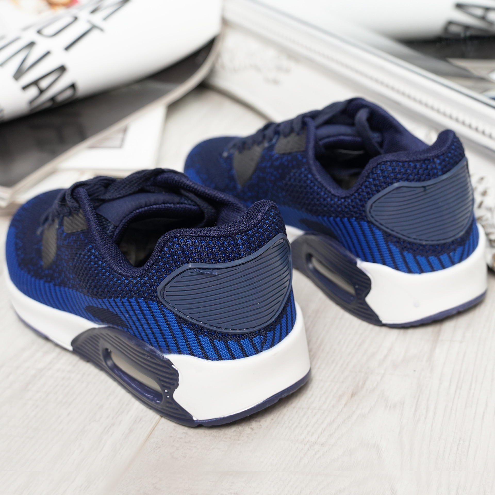 Larry Navy Sport Kids Trainers Sneakers