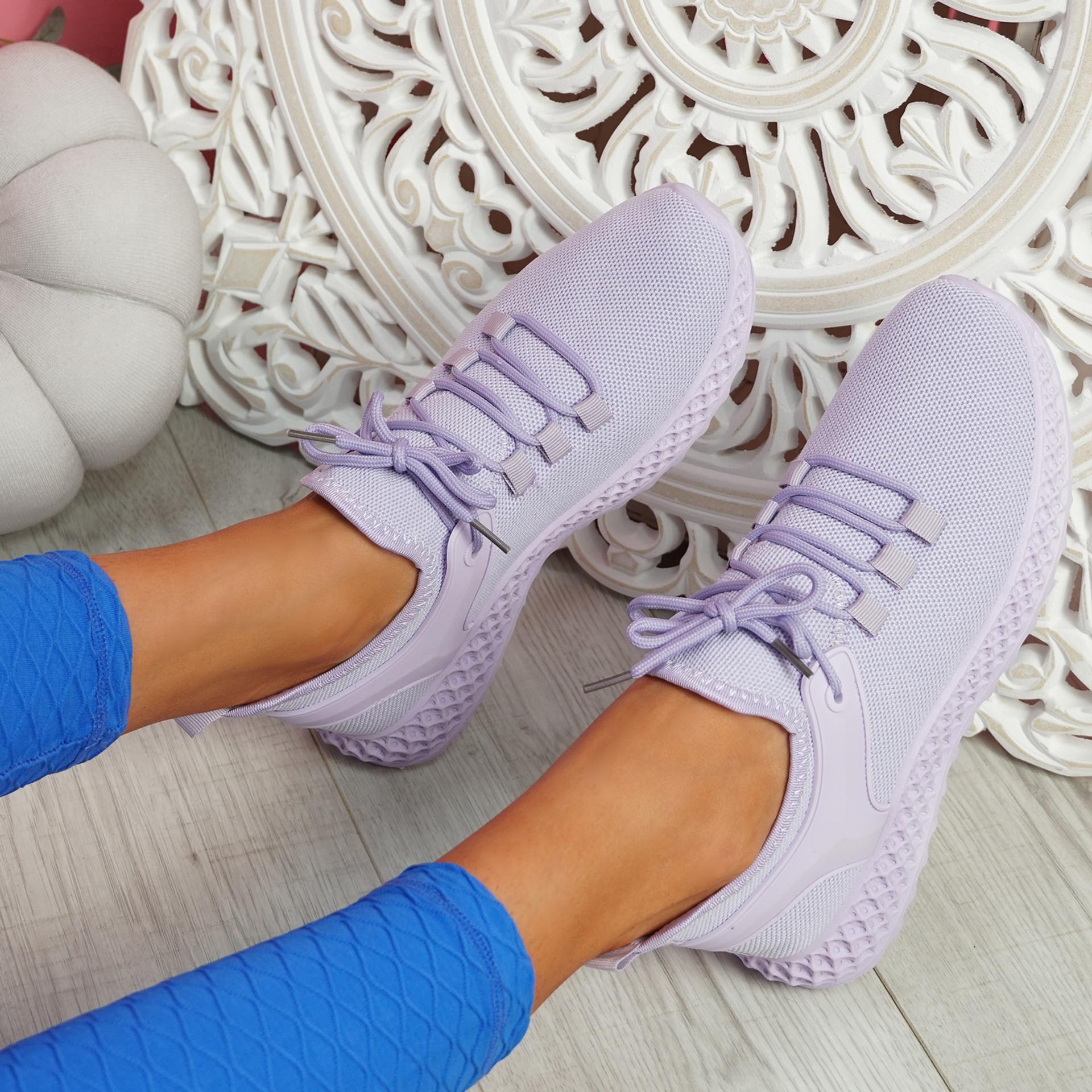 Lya Purple Sport Trainers