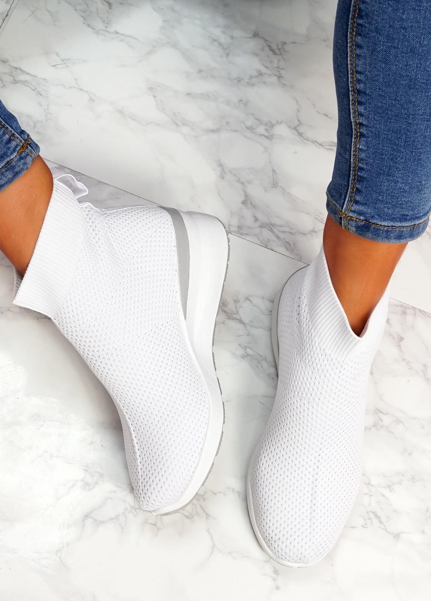Sue White Sock Sneakers