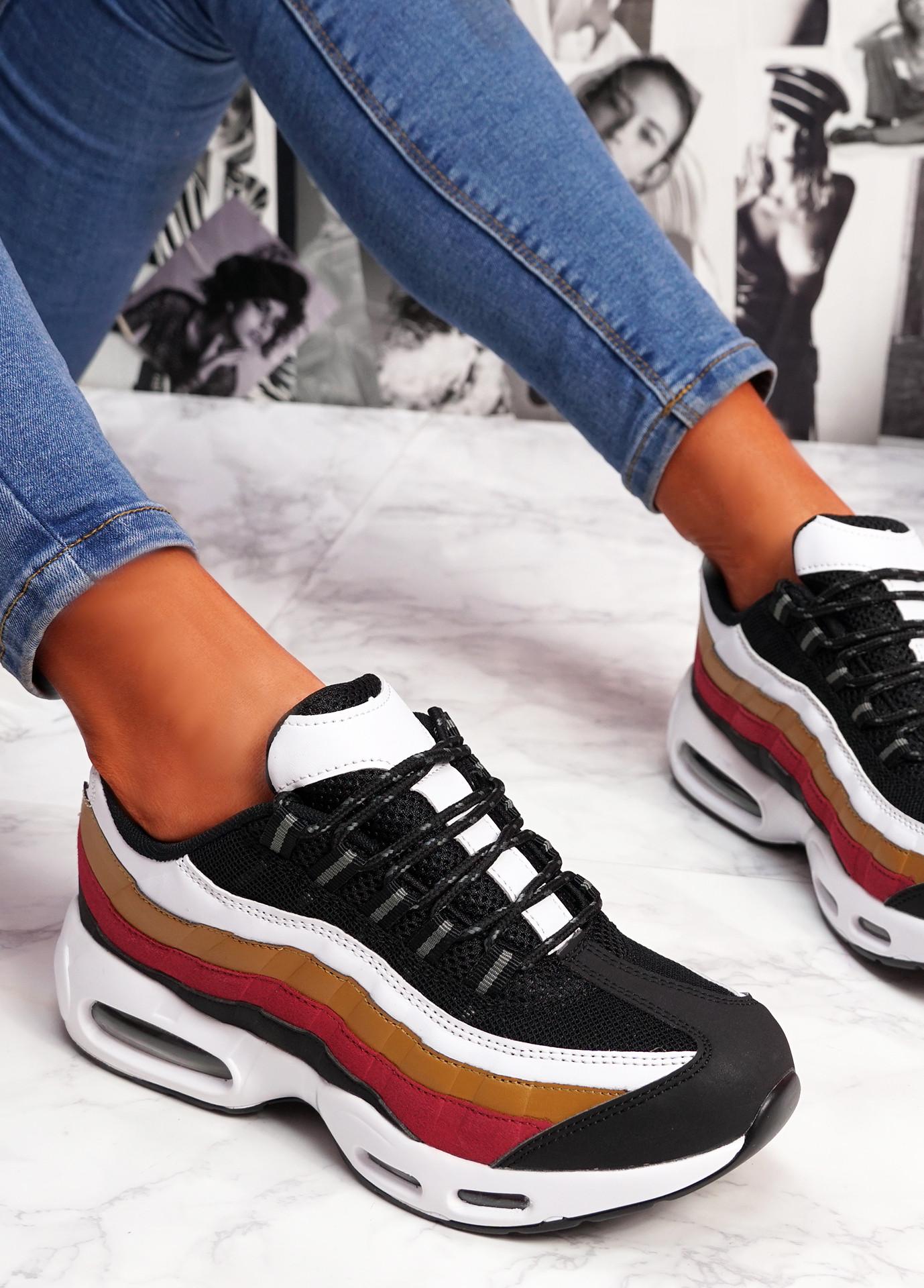 Judy Black Brown Sport Sneakers