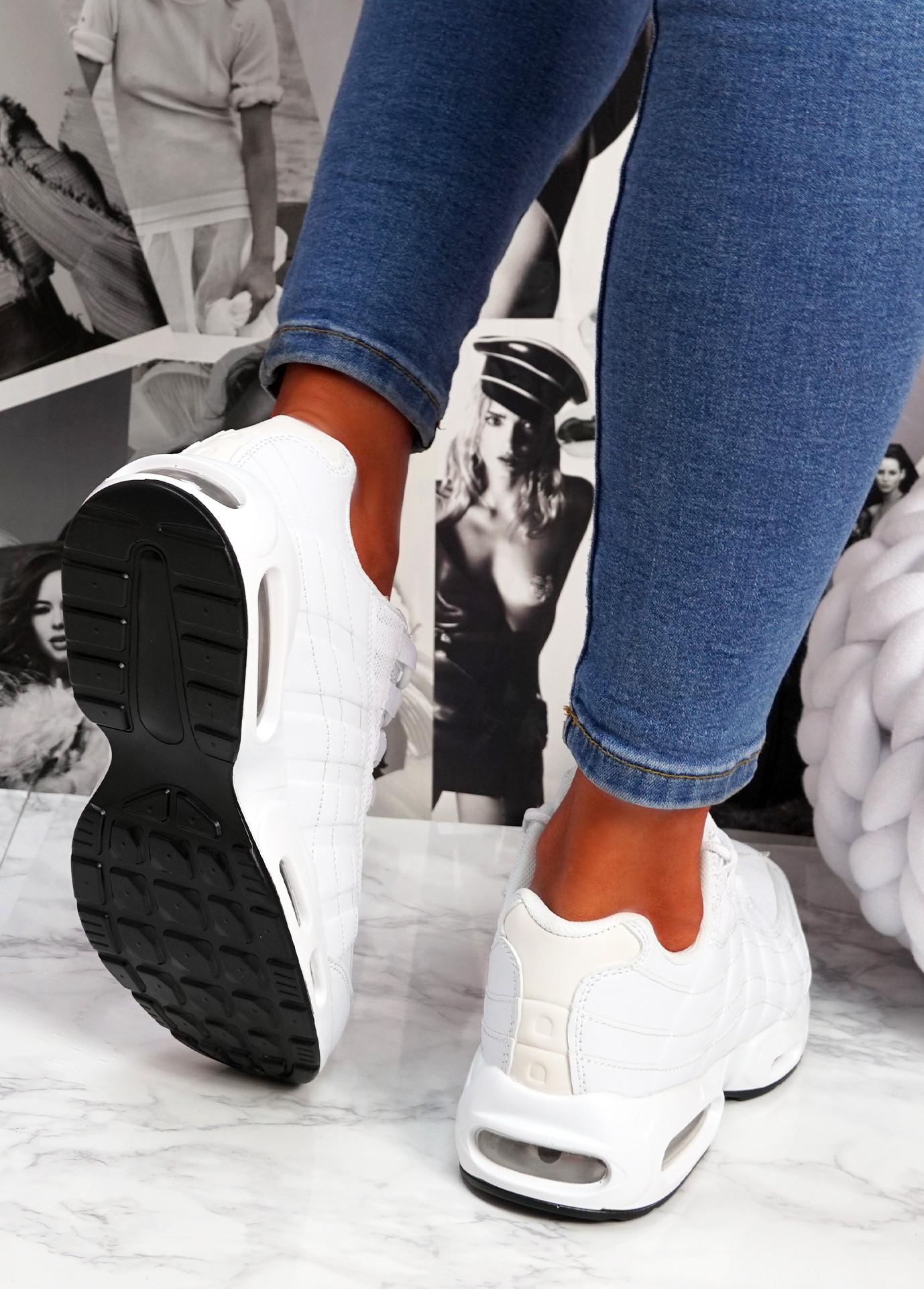 Judy White Sport Sneakers