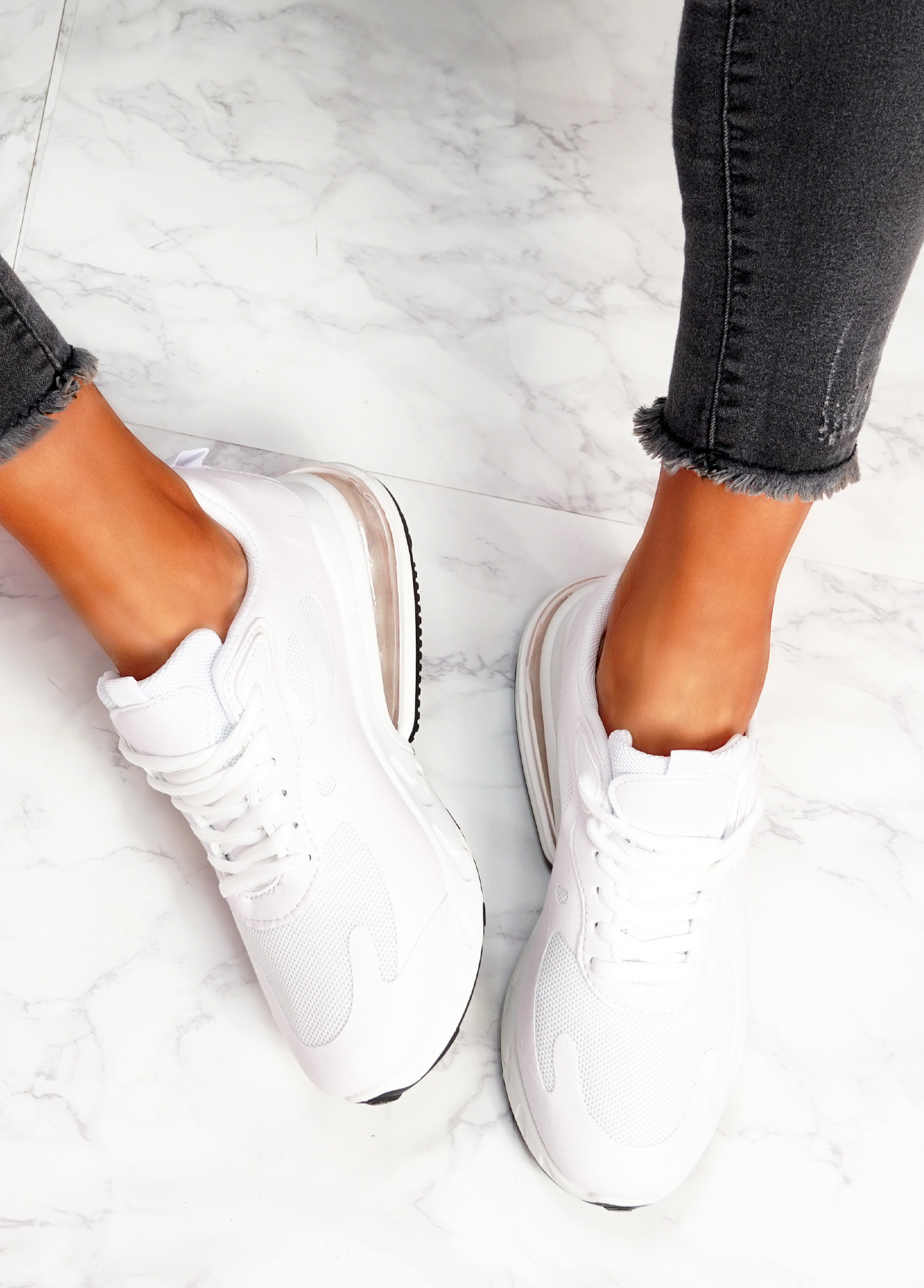 Lonny White Chunky Trainers