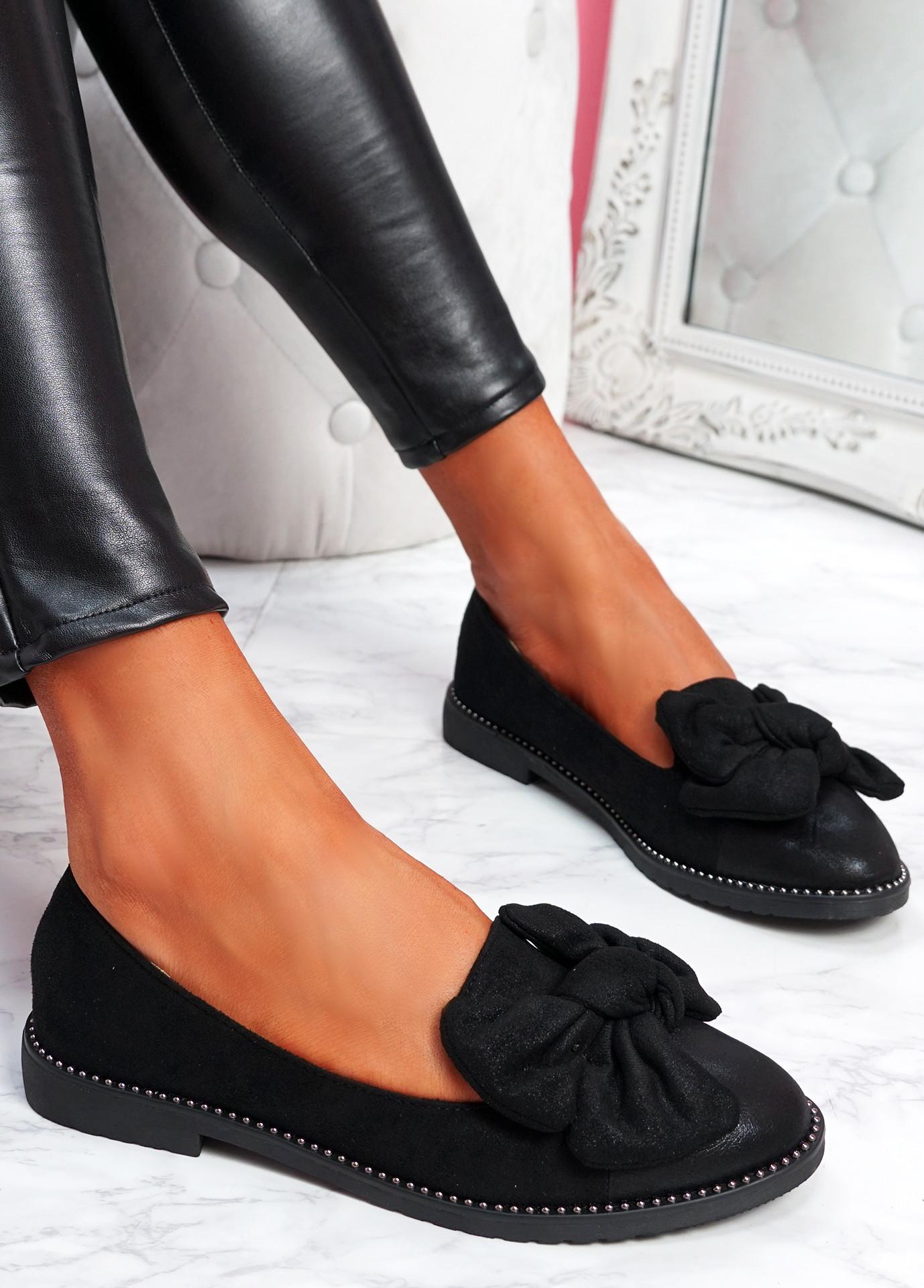 Joppa Black Ballerinas