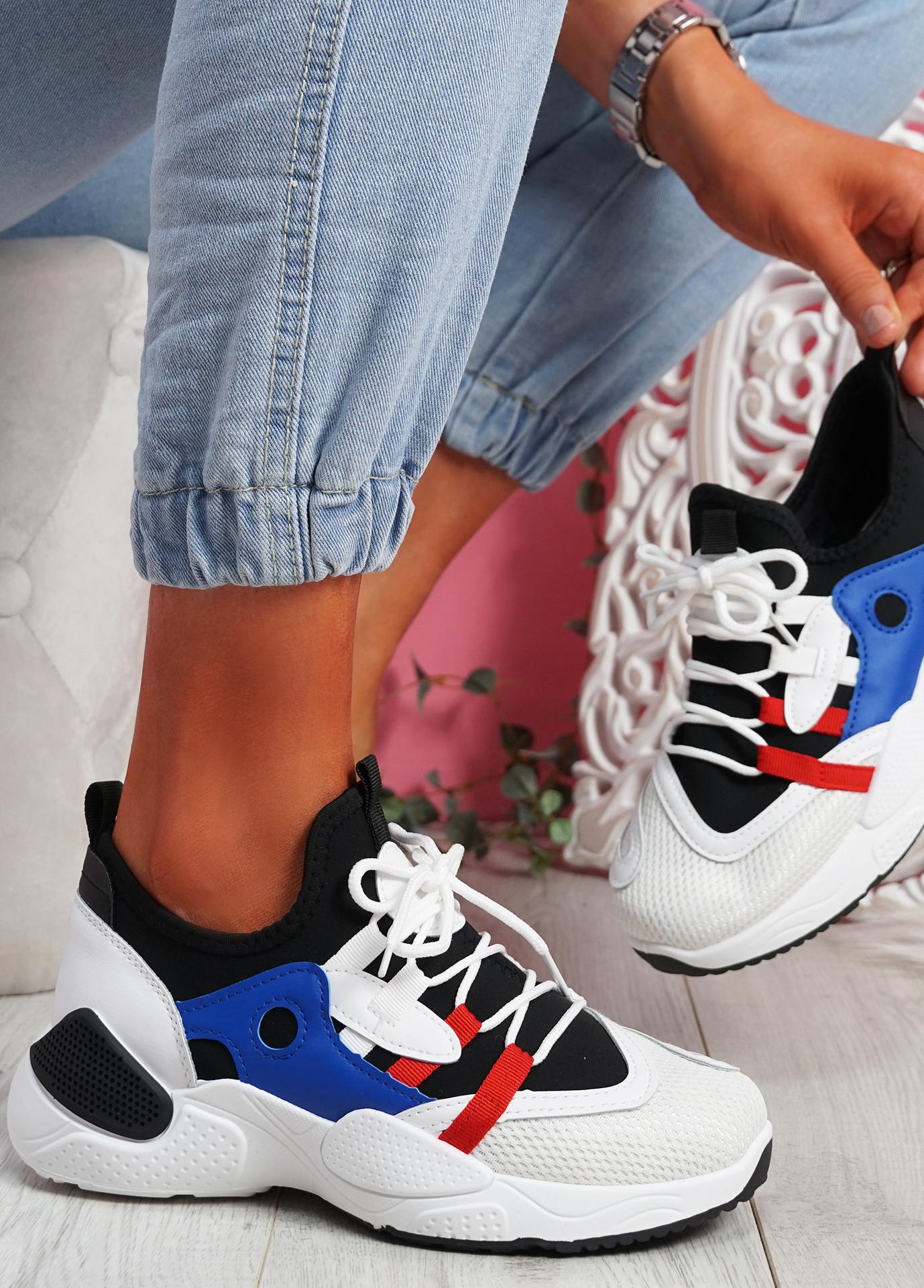 Nozo Black Chunky Sneakers