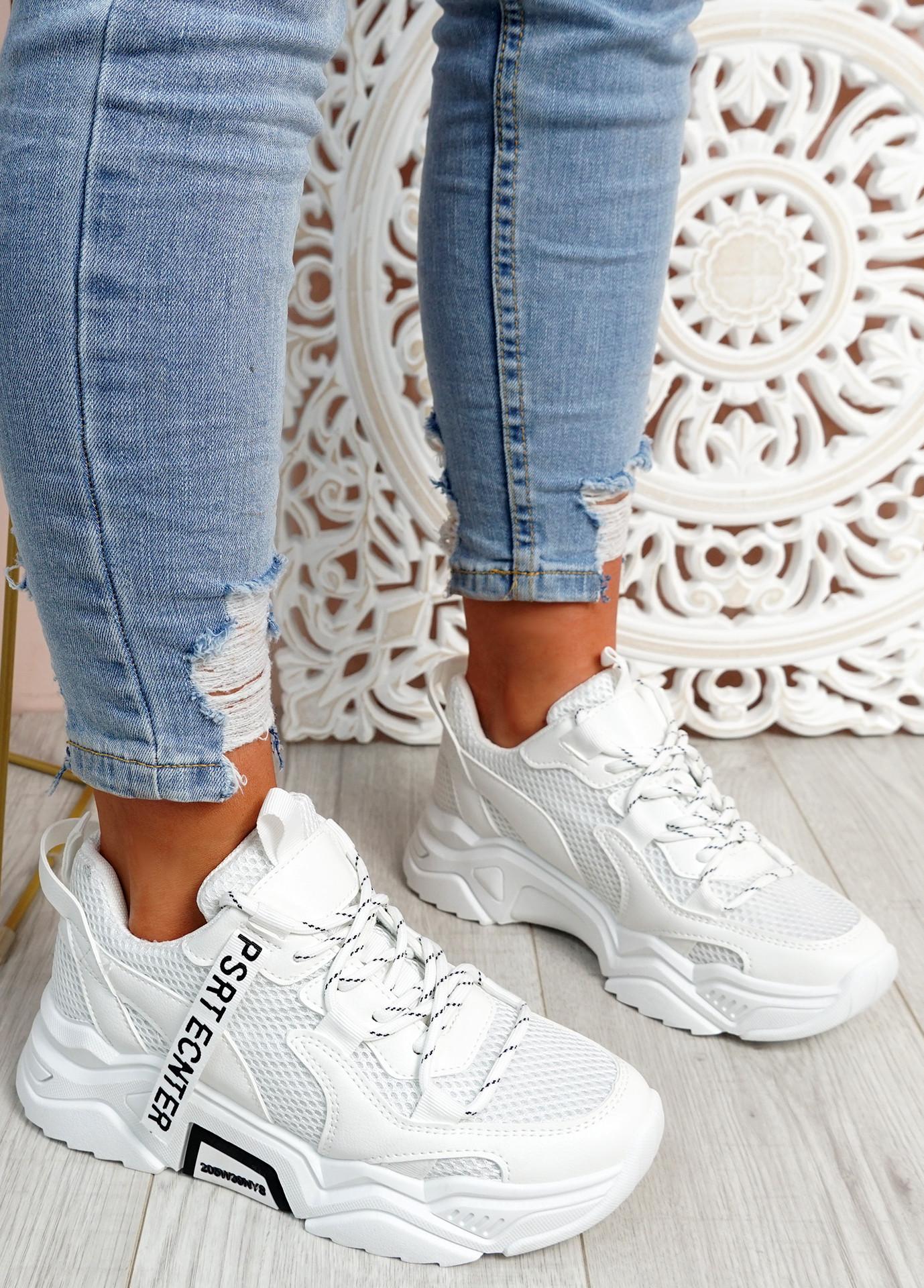 Nozzo White Chunky Sneakers