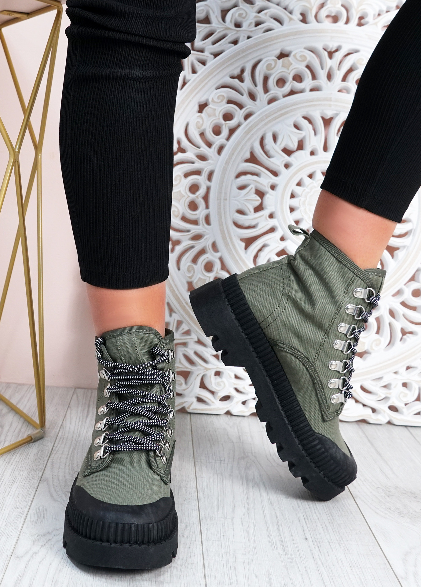 Connie Green Chunky Trainers