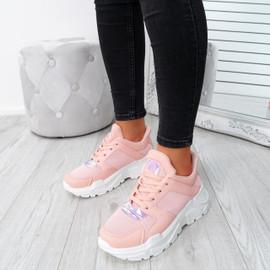 Foya Pink Running Sneakers
