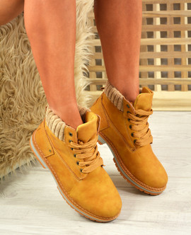 Patricia Honey Ankle Boots