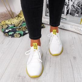 Rynna Yellow Running Trainers