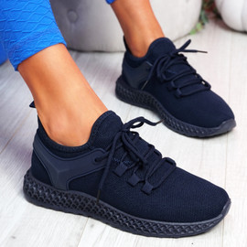 Lya Navy Sport Trainers