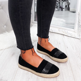 womens ladies slip on flat ballerinas comfy party casual evenings women shoes size uk 3 4 5 6 7 8