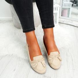 womens ladies bow ballerinas party comfy work ballet flats pumps women shoes size uk 3 4 5 6 7 8