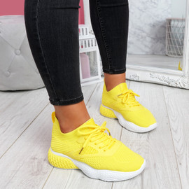 Bya Yellow Running Trainers