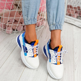 Jolle Royal Blue Chunky Sneakers