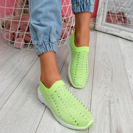 Kenny Green Studded Sock Sneakers