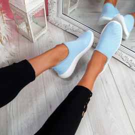 Enny Blue Running Trainers