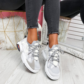 Orre White Chunky Sneakers