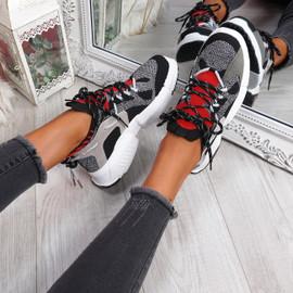 Orre Black Chunky Sneakers
