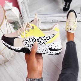 Obyo Beige Chunky Sneakers