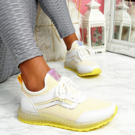 Gello Yellow Trainers