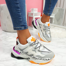Robby White Chunky Trainers