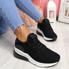 Lonny Black Sport Trainers