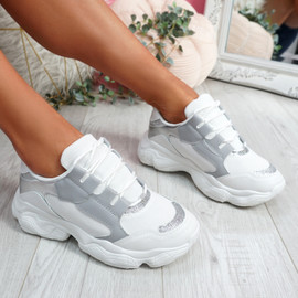 Lonne Silver Chunky Sneakers