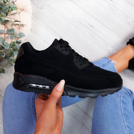 Monka All Black Trainers