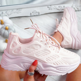 Juzy Pink Sport Chunky Trainers