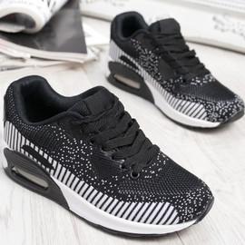 Larry Black Sport Kids Trainers Sneakers