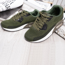 Larry Olive Sport Kids Trainers Sneakers