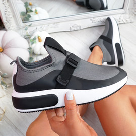 Zonna Dark Gray Sport Trainers
