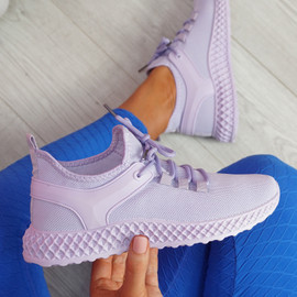 Lya Purple Sport Trainers