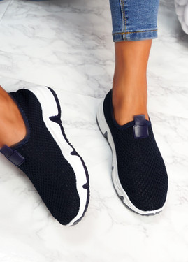 Tico Navy Sport Trainers