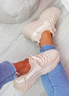 Zomo Pink Chunky Trainers